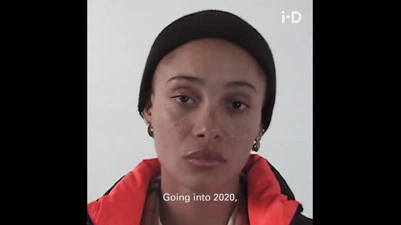 Adwoa Aboah в интервью для i D Magazine 'Rihannazine' зима 2020
