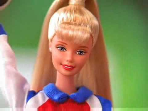 1998 Women's World Cup Soccer Barbie Doll Commercial With Mia Hamm