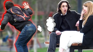 🔥Farting in Public PRANK 💃💨 - AWESOME REACTIONS