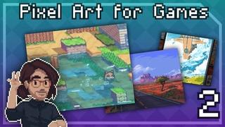 Pixel Art Class - About Pixels For Games