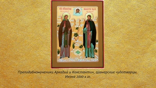 Беседа 41. Шамарские чудотворцы: преподобномученики Аркадий и Константин