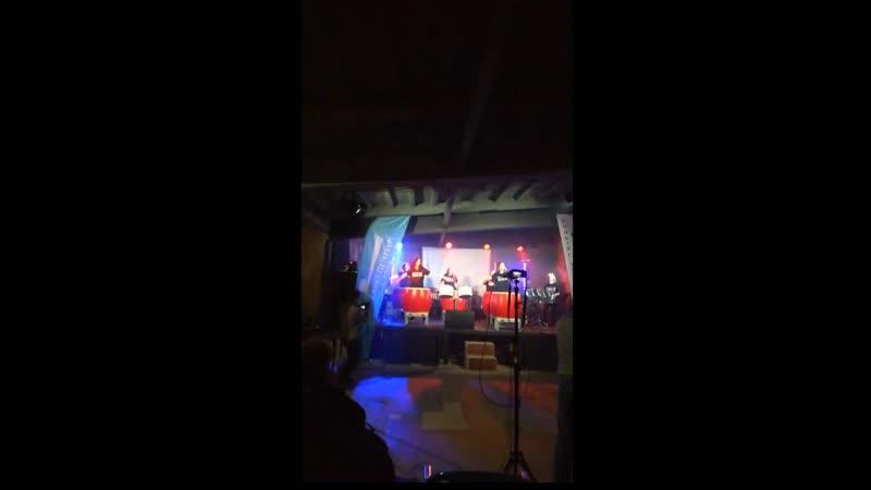 Барабанщицы АЛЫЕ ПАРУСА награждение и номер на Гала концерте лауреатов конкурса Ударная волна 2020