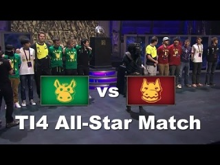 DotA 2 - The International 2014 All Star Match (Русские Комментарии) - Team rOtk vs Team XBOCT