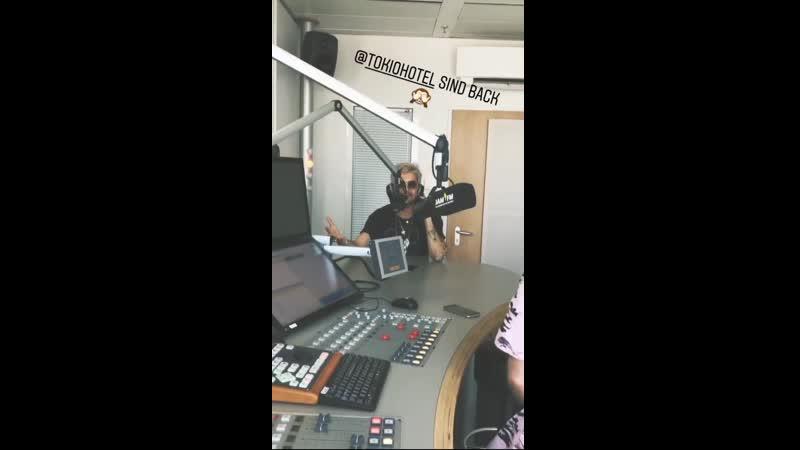 Jam FM Interview with Bill Kaulitz - 23.04.2019