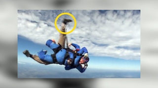 Friday Freakout: Tandem Skydive Instructor's Foot Wrapped Around Drogue, Saved by Reserve Parachute
