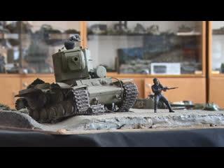 Как выглядели танки, которые победили в Великой Отечественной войне. Онлайн-выставка студии Диорама
