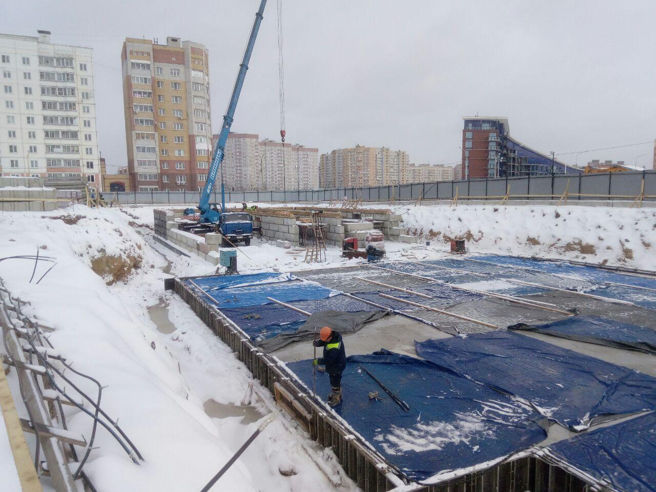 Во Фрунзенском районе Ярославля строят новую школу на 750 мест, открытие в 2021 году