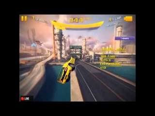 Asphalt 8 - Ferrari F50 Cup (San Diego Harbour R.) 1:06:852 TRIPLE BOOSTED