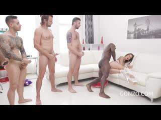 Cindy Shine (Cindy anal fucking 5on1 with DAP and 0% pussy fucking SZ2496) [2020, Interracial, Gangbang, Anal, DAP, 720p]