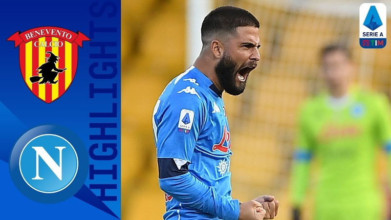Benevento 1 2 Napoli Two Second Half Goals Cancels out Benevento Opener Serie A TIM