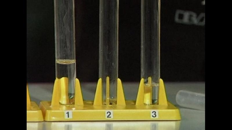 Распознавание растворов соляной азотной и серной кислот
