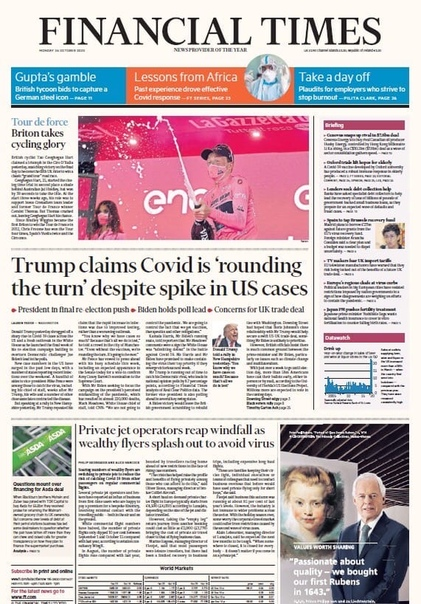 Financial Times Asia. October 26, 2020