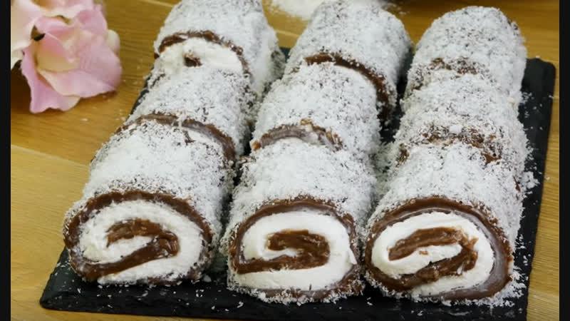 Нежный десерт без выпечки! Турецкий Султан Лукум создаст ощущение восточной сказки | Больше рецептов в группе Десертомания
