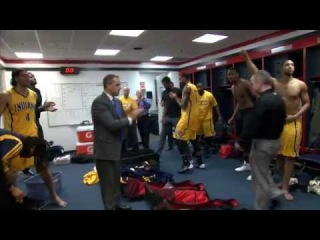 All-Access: Indiana Pacers Locker Room Celebration