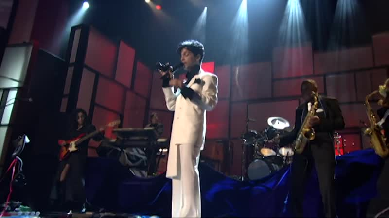 Prince performs Sign O the Times at the 2004 Rock Roll Hall of Fame Induction Ceremony