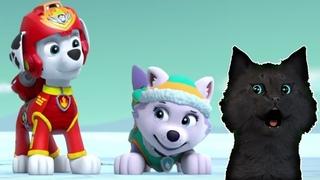 СУПЕР КОТ И СУПЕР СОБАКИ СПАСАЕМ ОБЕЗЬЯНКУ МЭНДИ ИЗ ВУЛКАНА #6 🐱 Mighty Pups Save Adventure Bay