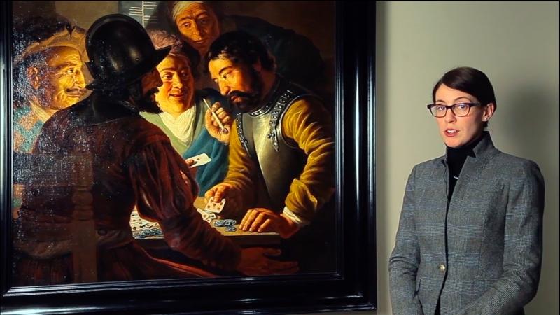 Лара Ягер-Красселт о картине Яна Ливенса «Игроки в карты»