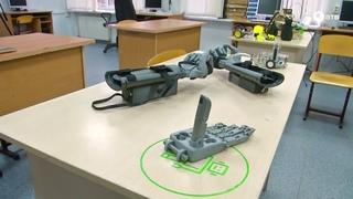Бионический протез руки собирает преподаватель робототехники в Ставрополе