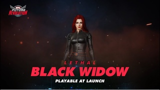 The Black Widow strikes in MARVEL Future Revolution!