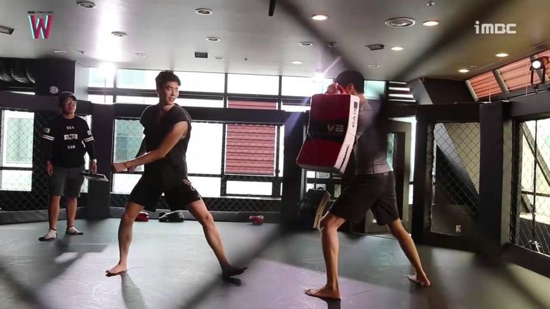 LeeJongSuk LeeTaeHwan W BTS Boxing sence