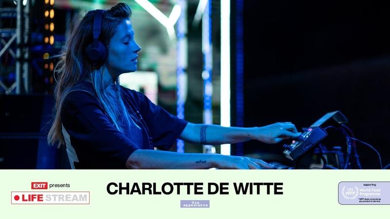 Charlotte de Witte Live @ EXIT LIFE STREAM 2020