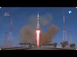 Пуск РН Союз-2.1а с ТПК Союз МС-17  14 октября 2020 г.