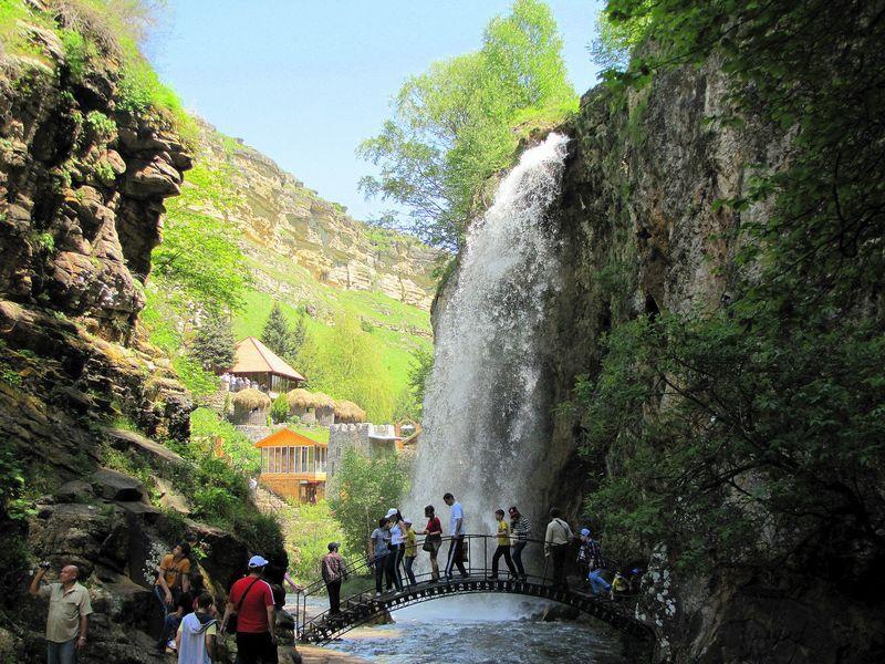 На Медовых водопадах в КЧР появятся новые экстремальные развлечения