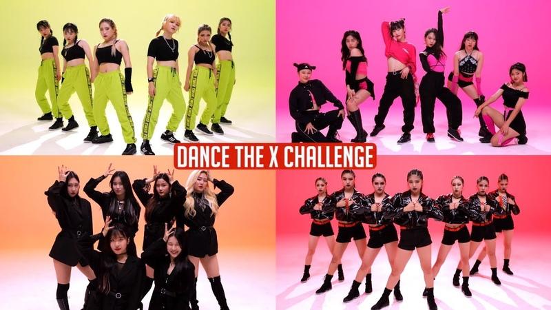 CLICK LIKE! 블링걸즈 vs 서공예 vs 에이더블 vs 한림예고 l [DANCE THE X CHALLENGE]