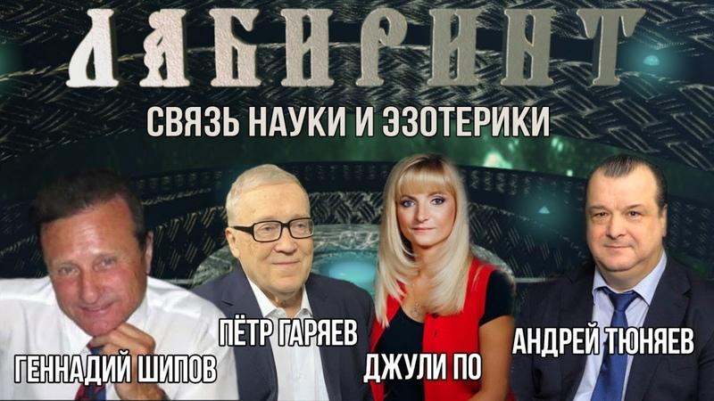 ЛАБИРИНТ Связь Науки и Эзотерики Джули По А А Тюняев П П Гаряев Г И Шипов