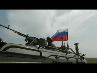 148th Russian -Turkish joint patrol in Northern Syria