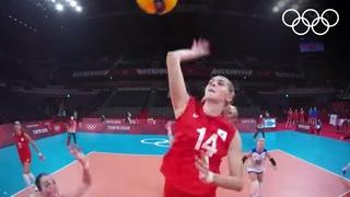 Женская сборная ОКР по волейболу разгромила Аргентину 🏐