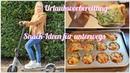 Urlaubsvorbereitung Teil 3. Snack-Ideen für unterwegs. Urlaub mit Wohnmobil und E-Scooter / E-Roller