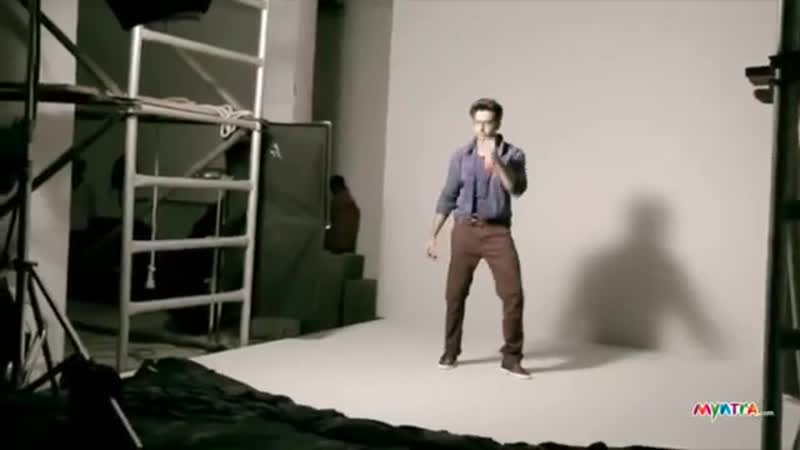 Behind The Scenes From Hrithik Roshans Ad Shoot for HRX on MMWorld