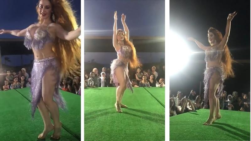 Oxana Bazaeva belly dance akdeb alek- رقص شرقى