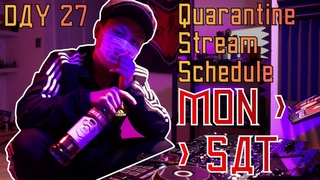 DJ SLAVINE - QuaRavine Isolation Stream DAY 27 (RUSSIAN HARDBASS)