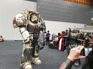 Warhammer 40k Terminator Suit up and Walk