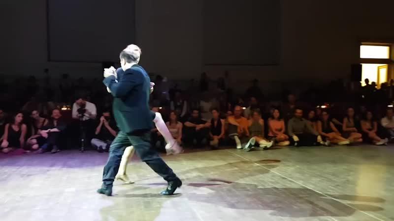 Chicho Frumboli Liz Vanhove ❤ Tigre Viejo @ Brussels Tango Festival 2018