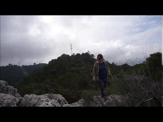 На вершине горы, Сьерра де Михас,прогулка в облаках, спуск, сосны, лаванда, ИСПАНИЯ, 16/02/2021