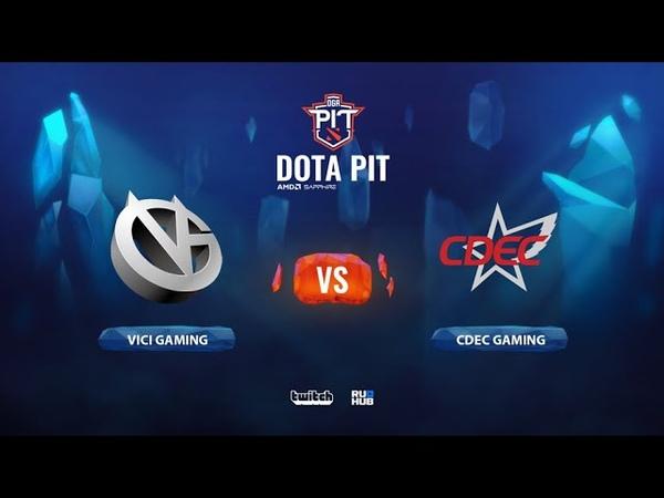 Vici Gaming vs CDEC Gaming OGA Dota PIT Season 2 China bo5 game 5 Smile Eiritel