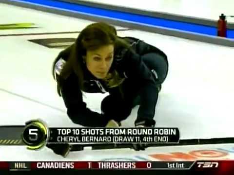 Top 10 Curling Shots Roar of the Rings