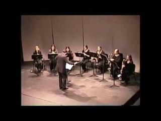 APSU Clarinet Choir Concert -- Dr. Stephen Clark, Director (April 18, 2000)