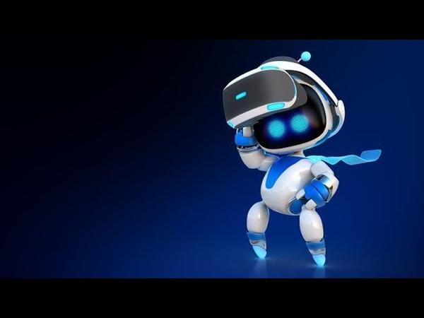 VR игра Astrobot Стримим игру Очки виртуальной реальности
