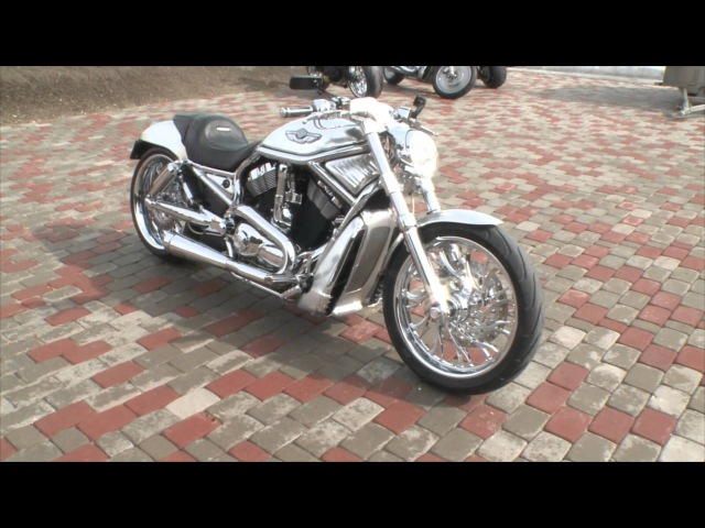 2003 Harley Davidson VRSCA V Rod Built by Fredy more info