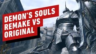 Demon's Souls Remake vs Original Comparison