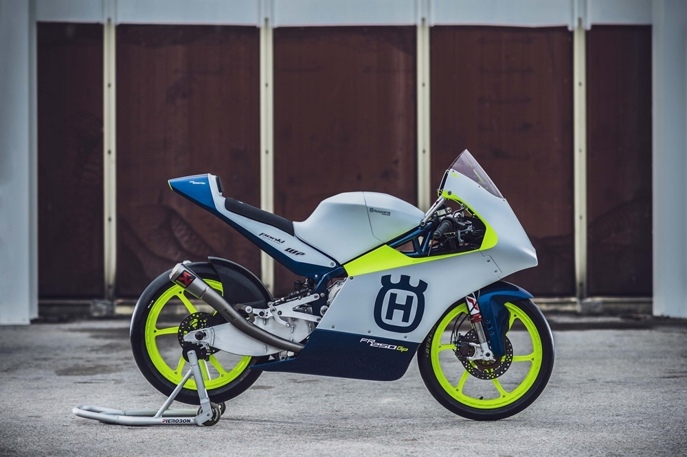 Гоночный мотоцикл Husqvarna FR 250 GP (Moto3)