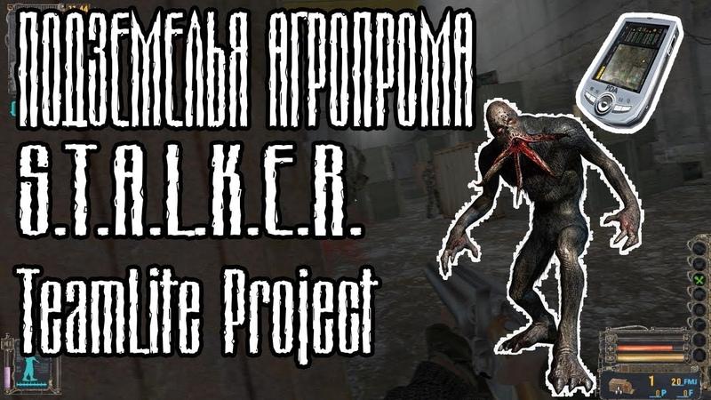 ПОДЗЕМЕЛЬЯ АГРОПРОМА   S.T.A.L.K.E.R. TeamLite Project (сборка Lite)
