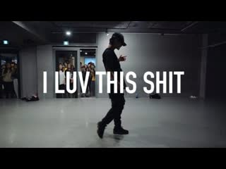1million dance studio august alsina i luv this shit (explicit) ⁄ shawn choreography