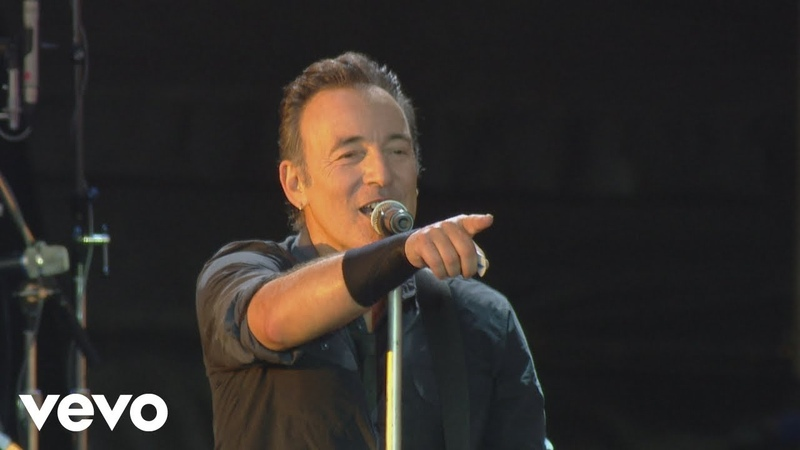 Bruce Springsteen Dancing In the Dark from Born In The U S A Live London 2013