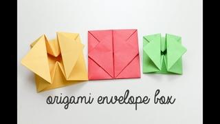 Origami Envelope Box Tutorial - DIY - Paper Kawaii