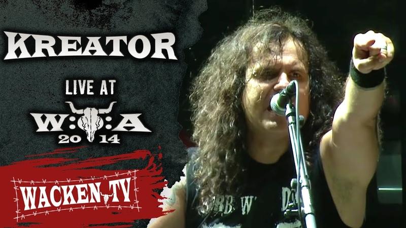 Kreator - 3 Songs - Live at Wacken Open Air 2014